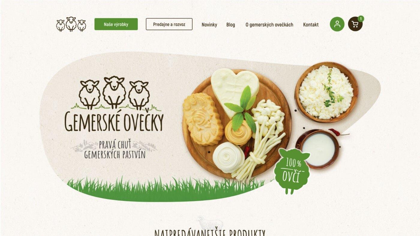 Internetový obchod Gemerské Ovečky