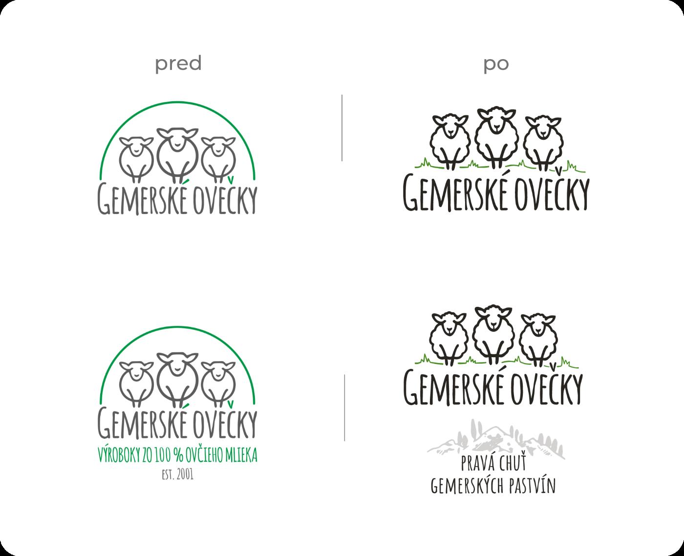 Modernizácia loga Gemerské Ovečky