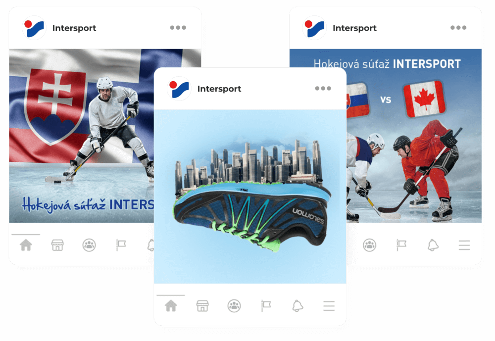 Facebook reklama Intersport